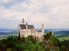 Neuschwanstein Castle Bavaria Germany - aka sleeping beauty castle :)