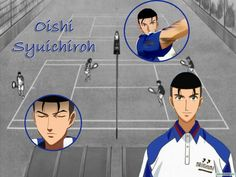 Аниме обои The Prince of Tennis: The National Tournament Final / Принц тенниса OVA-3 40930