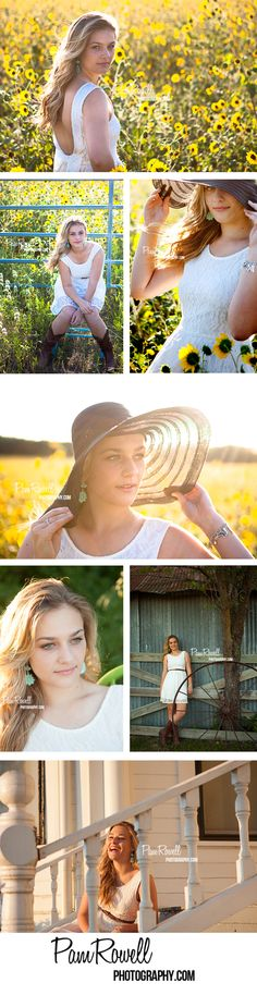 Senior Picture Ideas for Girls | Yellow isn't really my colour, but maybe a field of wildflowers...