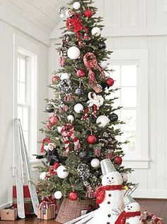 Celebrate the season in style with the selection of indoor and outdoor Christmas decorations at Grandin Road. Shop for unique Christmas decorations online. Skinny Christmas Tree, Pencil Christmas Tree, Holiday Tree, Christmas Home, Christmas Holidays, Christmas Trees, Xmas, Peppermint Christmas Decorations, Christmas Decorations Online