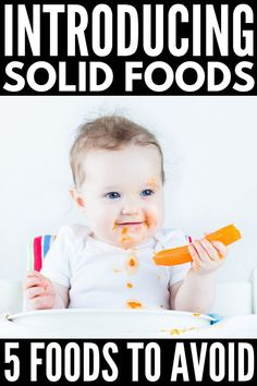 18 Finger Food Ideas for Baby | Introducing solids to baby can be both exciting and stressful. If you want to signs of readiness, how and when to introduce solids (is it 4 months or 6 months?!), if baby led weaning is for you, which foods to avoid, the best beginner finger foods to prevent food allergies, and yummy finger food recipes the whole family can enjoy, this post has it, all including other tips and ideas to help you get started! #introducingsolids #babyledweaning Baby Boy Themes, Baby Nursery Themes, Boy Baby Shower Themes, Baby First Foods, Baby Finger Foods, Baby Cribs For Twins, Baby Kids, Month Signs, Introducing Solids