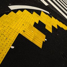 Road surface sheet for blind people