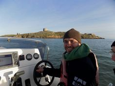 Checking out Dalkey island