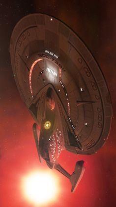 Starship Sovereign by Jetfreak-7.deviantart.com on @deviantART