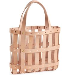 Main Image - byAMT Leather Strap Tote Bag