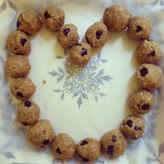 Chocolate Chip Cookie Dough Bites #vegan #glutenfree