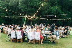 casamento ao ar livre publicado pelo blog de casamento Colher de Chá Noivas
