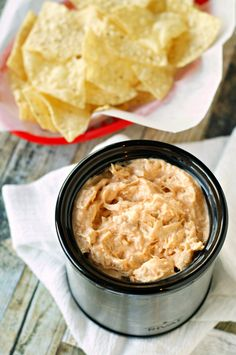 Honey Sriracha Chicken Dip | 18 Easy Party Dips You Can Make In A Slow Cooker
