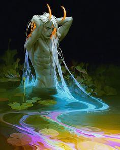 ArtStation – Pollution Demon, Valentina Remenar – … – About Anime Dark Fantasy Art, Fantasy Artwork, Dark Art, Demon Artwork, Fantasy Demon, Digital Art Fantasy, Fantasy Drawings, Beautiful Fantasy Art, Samurai