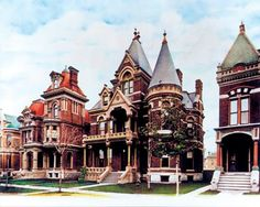 Detroit's Edmund Street 1889| Detroit Michigan The Grand Decay| This Historic City  Is an American Treasure| Serafini Amelia