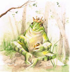The Frog Prince by Toradh.deviantart.com on @deviantART