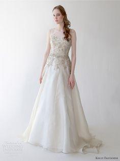 2015 BRIDAL gowns | kelly faetanini spring 2015 wedding dress lucia