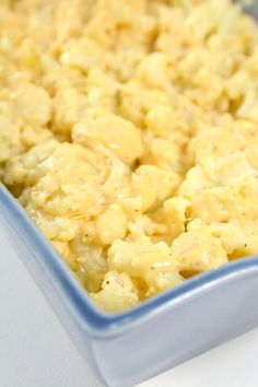 EASY Keto Cauliflower Mac and Cheese! Low Carb Mac & Cheese Idea - Quick - Healthy - Baked Ketogenic Diet Recipe - Completely Keto Friendly