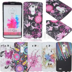 Patterned Flexible GEL TPU Rubber Case Cover Skin For LG G3 D850 D855 LS990 #UnbrandedGeneric