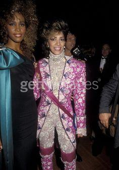 1980s Glitz - Shelia E with Whitney Houston