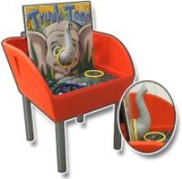 Tunk Toss -- try to get the hoop on the elephant's trunk!