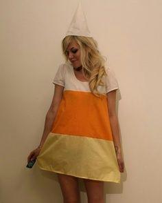 candy corn costume diy