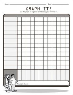 Graph It! Organizing Data Graphic Organizer for the Interactive Whiteboard