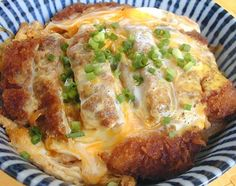 Katsudon - Japanese Pork Cutlet over rice