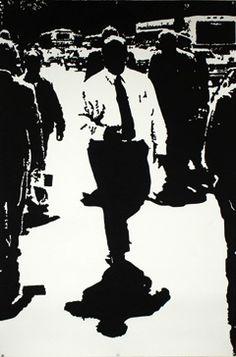 Mario M. Muller india ink on paper ...the urban titans