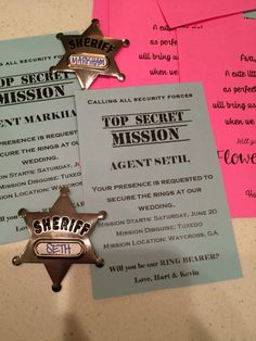 Secret mission for ring bearers. Will you be my ring bearer?