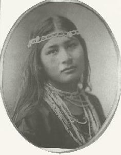 Muskogee/Creek queen Ella Monohwee - her family came to Oklahoma on the Trail of Tears