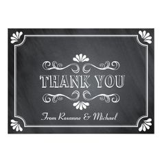 See MoreVintage Chalkboard Thank You Note Personalized InviteYes I can say you are on right site we just collected best shopping store that have