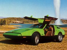 our neighbor has this sitting in his driveway...The Bricklin SV-1