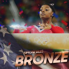 NBC Olympics ‏@NBCOlympics  Aug 15 .@Simone_Biles adds another medal to her collection. She won #bronze in the Women's Beam! #Rio2016