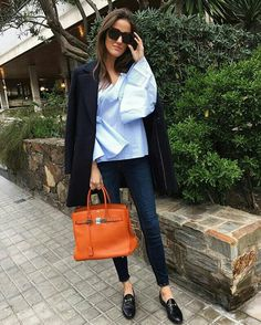 Girly Outfits, Chic Outfits, Fashion Outfits, Urban Fashion, Trendy Fashion, Hermes, Elegantes Outfit, Mode Chic, Europe Fashion