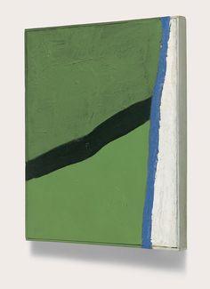 Raoul De Keyser ZT. 1964-1966 45 x 36 cm oil on canvas and wood