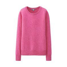 WOMEN Cashmere Round Neck Sweater-UNIQLOUKOnlinefashionstore