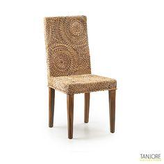chaise en bananier tress tanjore krea