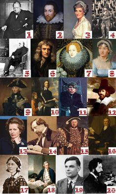 Great Britons! This Photo Friday is for our awesome across the Atlantic people. Name that famous historical Briton. Bonus: There are two pairs of people in this Photo Friday that have unique similarities compared to everyone else. Can you find those two pairs as well as state what Read the Rest...