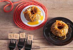 Mini-Mohngugelhupf mit Orangensirup