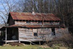 Appalachian ruin, abandonned store...Falcon, Kentucky by durand clark, via Flickr
