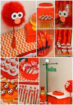 Elmo birthday party ideas that won't break your party budget.