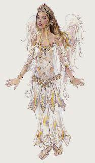 Fantasia de una PrinCesa: Bonitas imagenes de Christine Haworth Fairy Art, Cute Characters, Art Boards, Pixie, Clip Art, Victorian, Female, Illustration, Fairies
