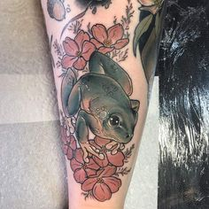Frog by Jessica Ashby at Legacy Ink, Haverhill, UK