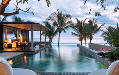 Soori Bali hotel is a luxury design hotel in Tabanan, southwest Bali, Indonesia. Soori Bali hotel offers exclusive pool villas, a spa, gym & 3 restaurants. Bali House, Resort Em Bali, Hotels And Resorts, Best Hotels, Luxury Resorts, Best Places To Travel, Places To Go, Scda Architects, Destinations