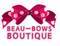 Beau-Bows Boutique logo visual