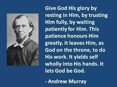 Andrew Murray Quotes About Humility