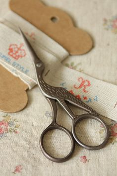 Antique Scissors. My Grandmother had a pair like this. I was born in 1948 to a Mother 34 years old.