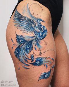 Trendiest Tattoo Arts To Rock - Vincisjournal Hip Tattoos Women, Shoulder Tattoos For Women, Trendy Tattoos, Sexy Tattoos, Body Art Tattoos, Hand Tattoos, Girl Tattoos, Tatoos, Phoenix Tattoo Feminine