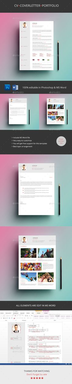 Resume Cv Bundle Resume cv, Company logo and Adobe indesign cs5 - correct spelling of resume