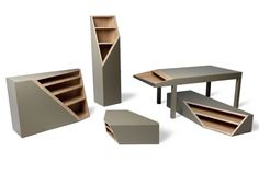 Smooth Plane – Cutline furniture by Alessandro Busana
