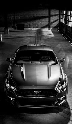 2015 mustang... I want an old building like this with it full of all different years of Stangs... that would make me SOOOO HAPPY!