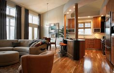 1000 images about open concept on pinterest open for Open concept post and beam house plans