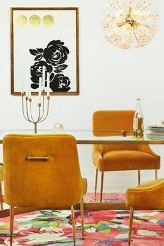 Oscarine Lucite Dining Table