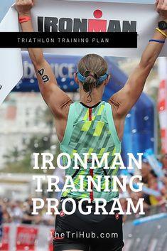 Ironman Triathlon Training PlanYou can find . Half Ironman Training Plan, Triathlon Training Plan, Swim Training, Half Marathon Training, Endurance Training, Training Equipment, Marathon Tips, Ironman Triathlon Motivation